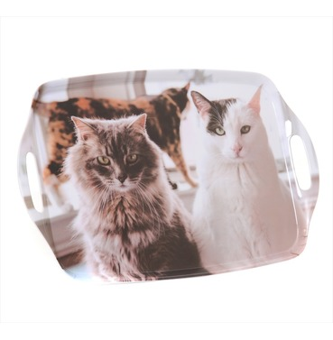 Cat Trio Tray - Country Matters Tea Tray