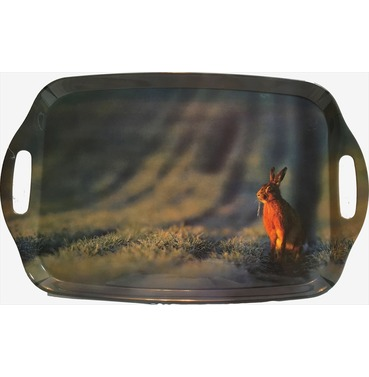 Hare Tray - Country Matters Tea Tray