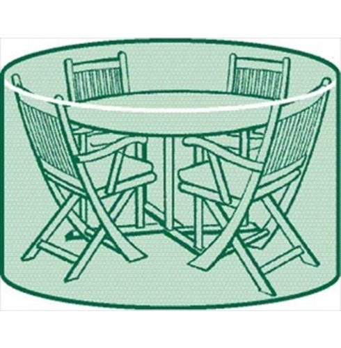 Round Patio Set Cover Small The Garden Factory