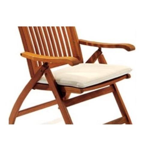 Set Of 2 Folding Garden Chair Pads The Garden Factory