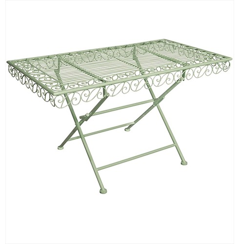 Old Coffee Table Outdoor: Sage Grn - The Garden Factory
