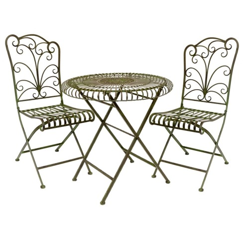 Lucton Tea For Two Garden Bistro Set The Garden Factory