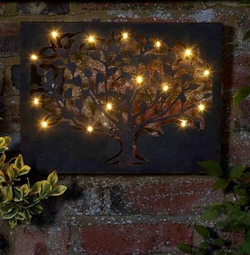 Silhouette Tree LED Lite Wall Art