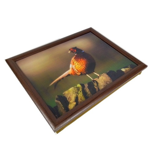 Pheasent On a Wall Lap Tray - Country Matters Bean Bag Tray