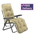 Reclining Multi Position Lounger Chairs - Mocha