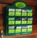 Garden Seed Organiser with 6 FREE Veg / Flower Seed Packets