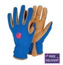 "Profession ""Elle"" Rose Gardening Gloves - Medium - Briers"